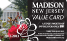 Madison NJ Value Card